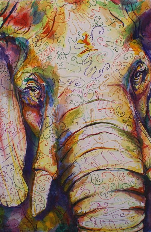 Smart, Strong, Beautiful: An Elephant Art Collection