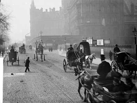Euston Road, c 1885.
