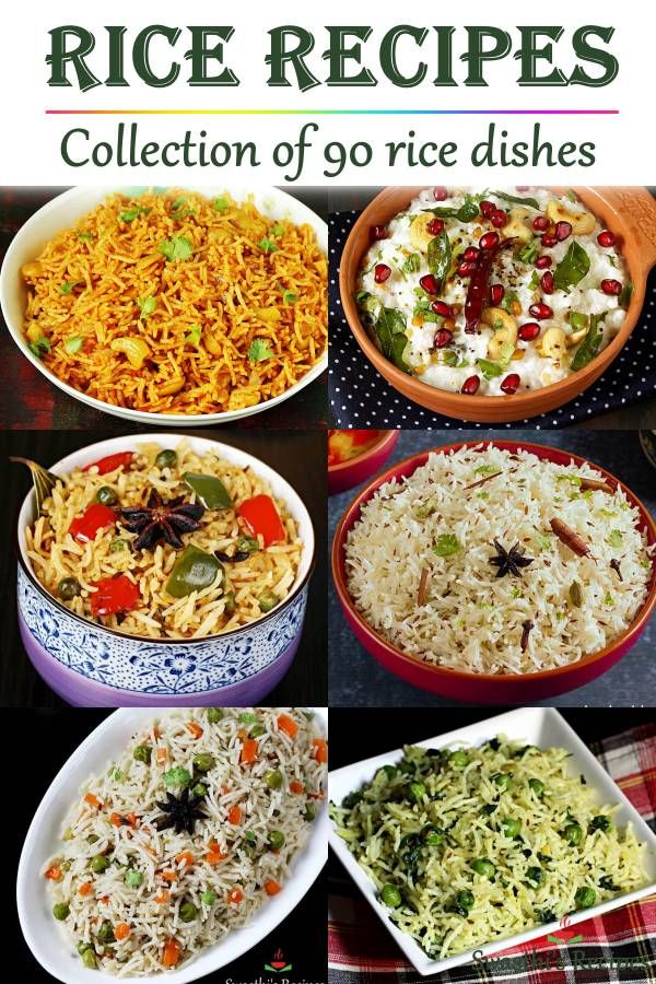 Collection Of Over 90 Rice Recipes With Step By Step Photos
