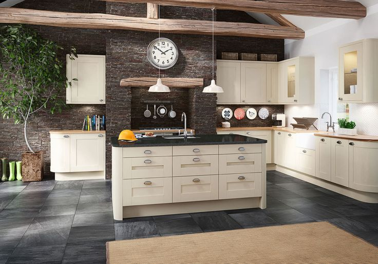 The Winchester Cream perfectly encapsulates everything that a farmhouse kitchen is about