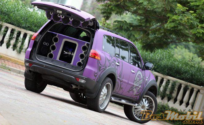 Modif Mitsubishi Pajero Sport : Gonta-Ganti Boks, Suara Dahsyat #BosMobil #MobilModifikasi