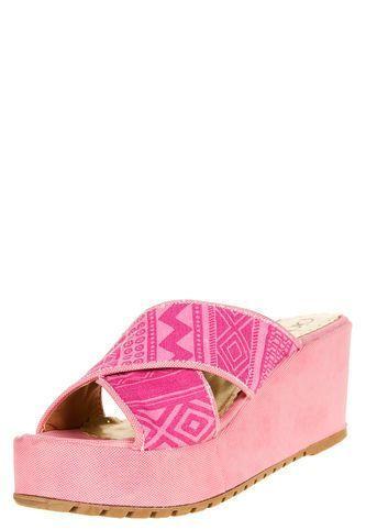 Zueco Rosa Pink Detroit Pink