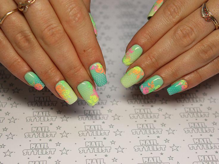Никитина Юлия | AIRnails, аэрография на ногтях