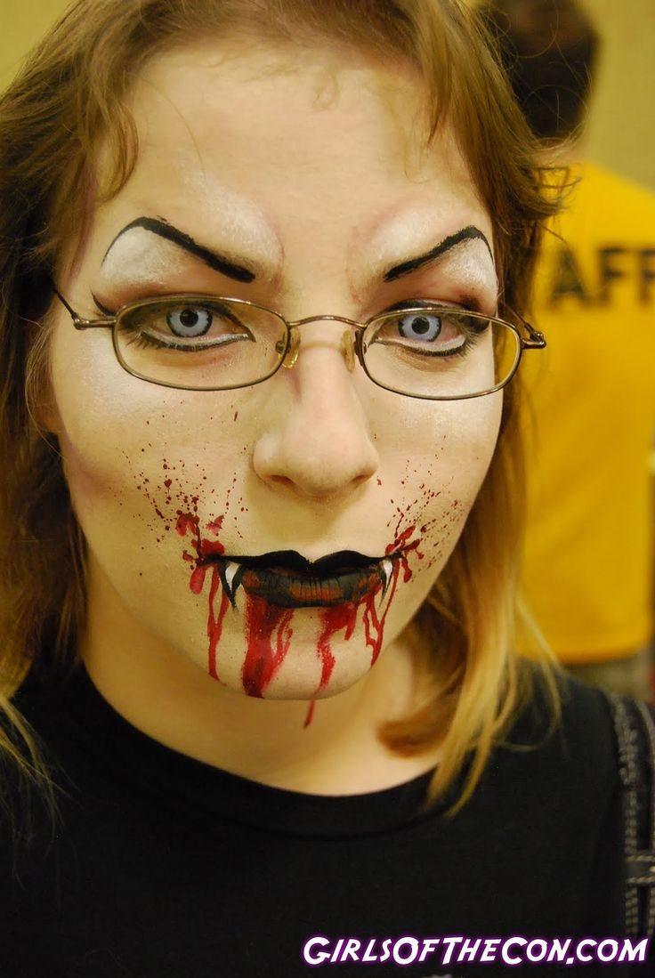 Vampire Makeup  Want To Express Your Feelings: How To Do Vampire