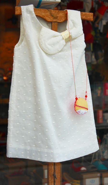 Robe plumetis [La petite Luce]  #kids