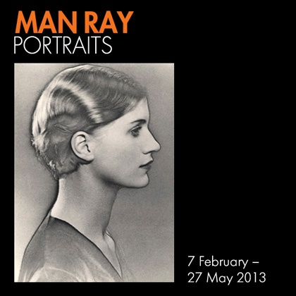 Man Ray exhibition at the National Portrait Gallery in London