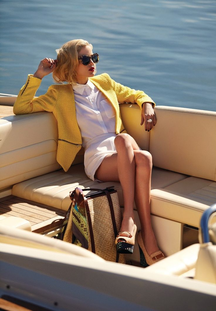I'm sorry but I don't remember loaning out my personal yacht for a photo shoot....