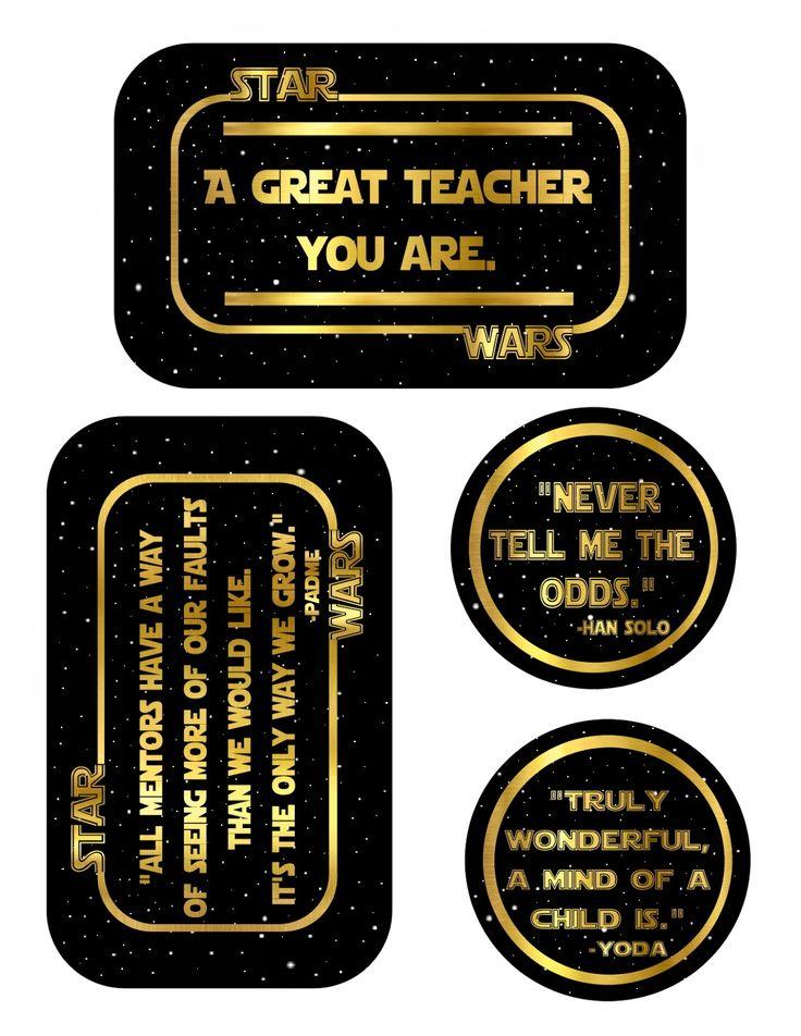 Teacher Appreciation- Star Wars! ~ The Red Balloon
