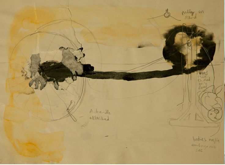 Emma Minkley Untitled Drawing