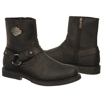 Harley Davidson  Men's Scout Side Zipper Motorcycle Boot at Famous Footwear