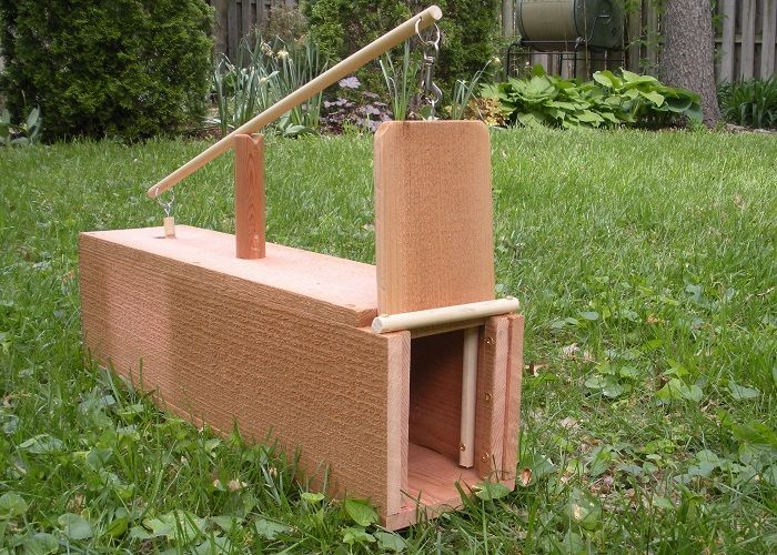 How To Build A Box Rabbit Trap - http://www.offthegridnews.com/2014/03/14/how-to-build-a-box-rabbit-trap/