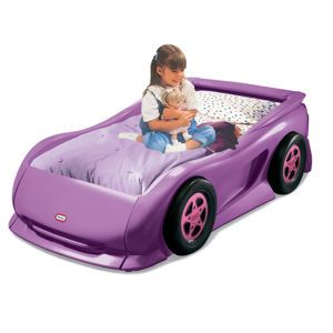 buy the best and new car beds for girls nice and fancy purple sports kids