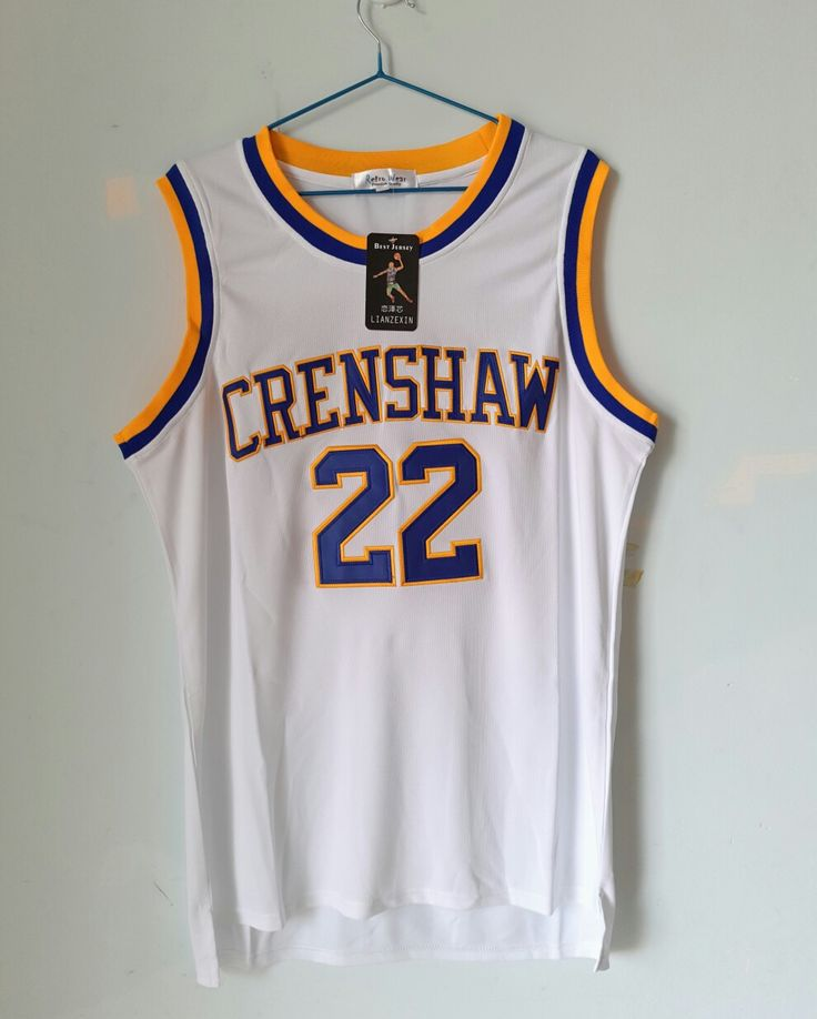 QUINCY McCALL (LOVE & BASKETBALL) CRENSHAW HIGH JERSEY