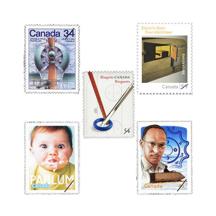 Canadian Stamps Celebrating Canadian Inventors_From Canada Post Facebook Page_17.02.11