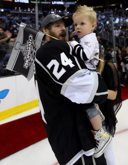 Colin Fraser of the LA Kings//hockey