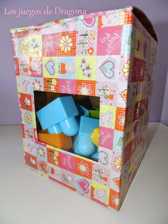 Una caja para guardar juguetes