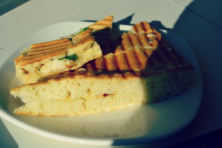 Maukas kanafocaccia #piknik #bread