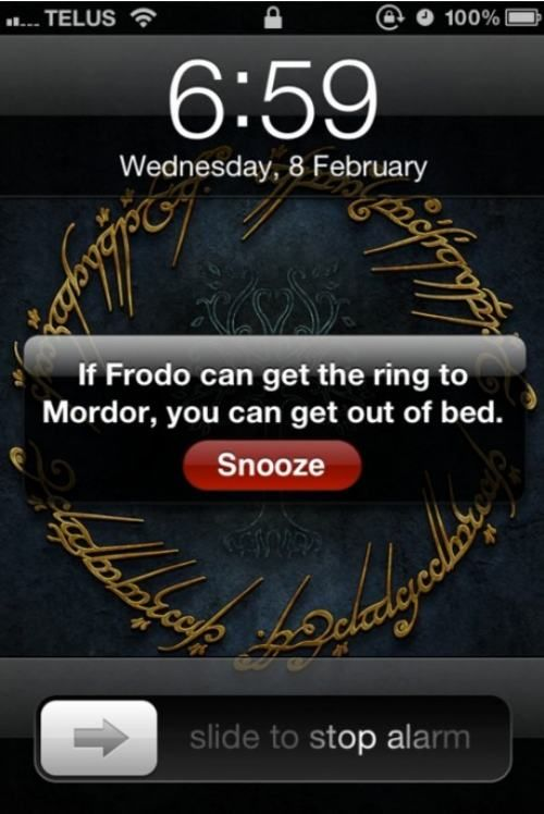 .Geek, Beds, Self Motivation, Alarm Clocks, Mornings Motivation, Funny, So True, Rings, Messages