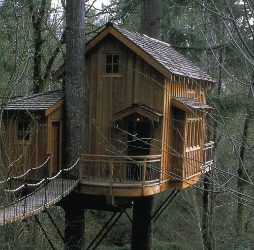 Treehouse Masters Treehouse Point: Climb Up To My World Love