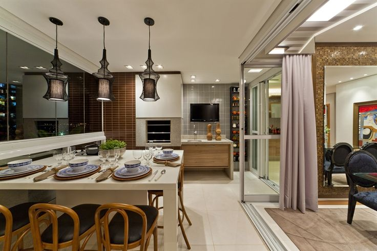 Unir diversos ambientes é uma forma de tornar o lar ainda mais aconchegante e convidativo.