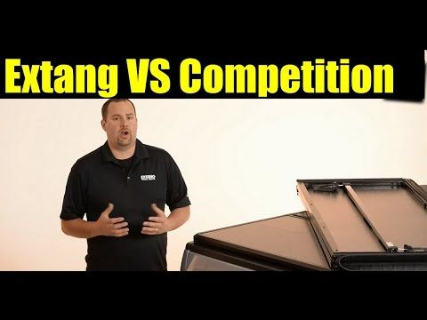 The Battle for the Best Tonneau Cover: Extang Solid Fold vs Competition - SDTrucksprings.com - YouTube