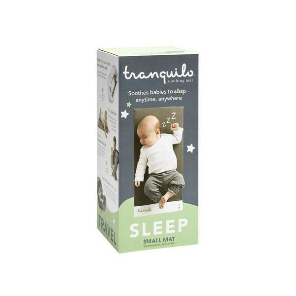 Size BABY TRANQUILO MAT Small Soothes babies to sleep anytime anywhere