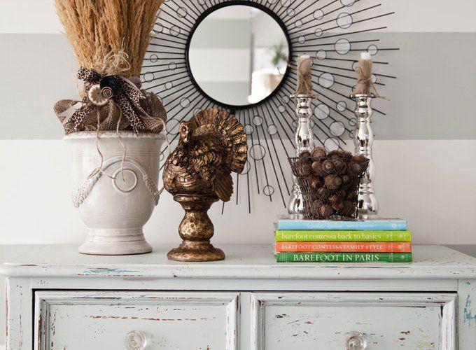 meubles vintage faire soi-même commode-blanche-poncée