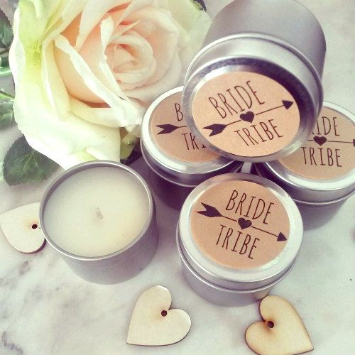 B R I D E - T R I B E // Rustic inspired Bride Tribe petite soy candles, hand crafted using premium natural soy wax, cotton wicks and