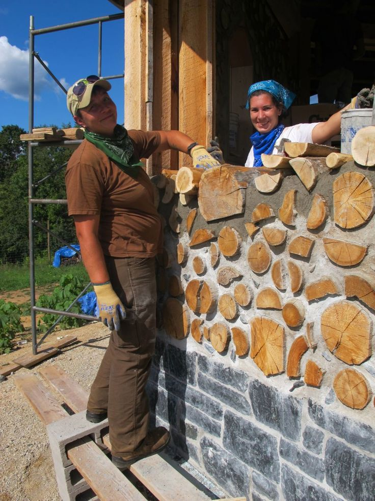 111 Best Images About Cordwood Homes On Pinterest