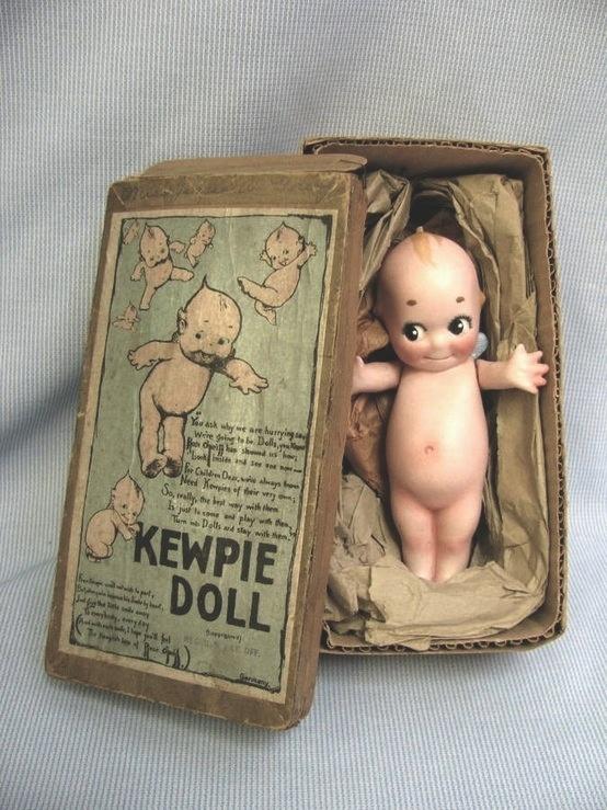 The ORIGINAL kewpie doll