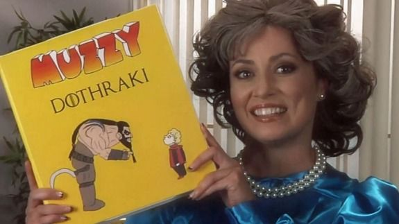 Learn Dothraki With This Nostalgic Muzzy VHS Parody