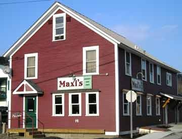 Maxi's Restaurant  47 North Main Street ~ Waterbury, VT.  I can remember when Maxi's was a general store!
