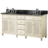 "Found it at Wayfair - Cottage 60"" Vanity Cabinet with Double Sink"