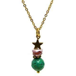 fijne gouden ketting agaat ster sieraden trends shoptip beadies 9straatjesonline