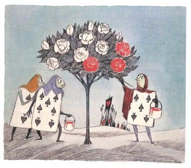 Tove Jansson: Alice in Wonderland illustration
