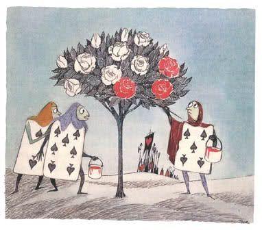 Tove Jansson: Alice in Wonderland illustration