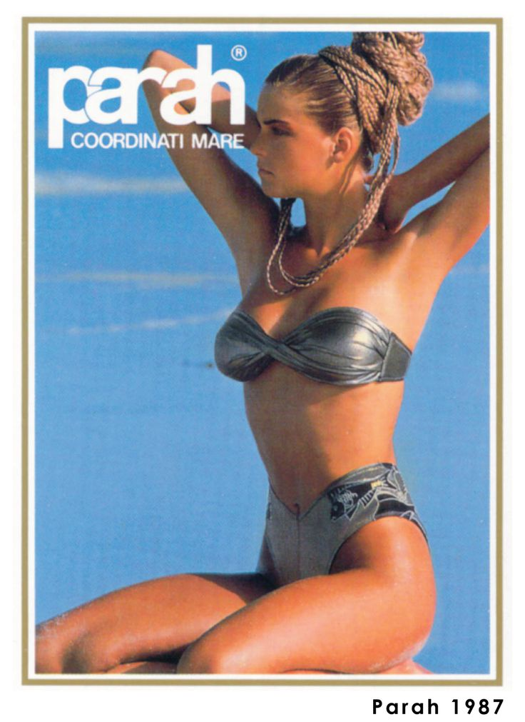 It was the 1987 as we were introducing our coordinates collection about our breath-taking beachwear catalogue. #ParahWorld #Vintage #throwbackthursday