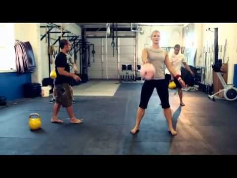 Kettlebell Workouts-BEGINNERS WORKOUT I am a beginner and did this and I felt accomplished making it through.