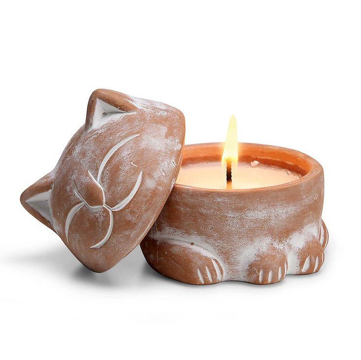 Garden Cat Citronella Candle