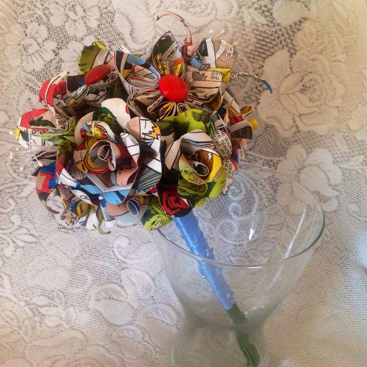 Marvel hero bouquet