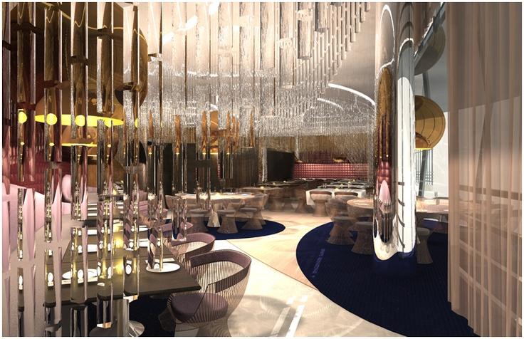 Lumiere restaurant in jeddah decoration pinterest