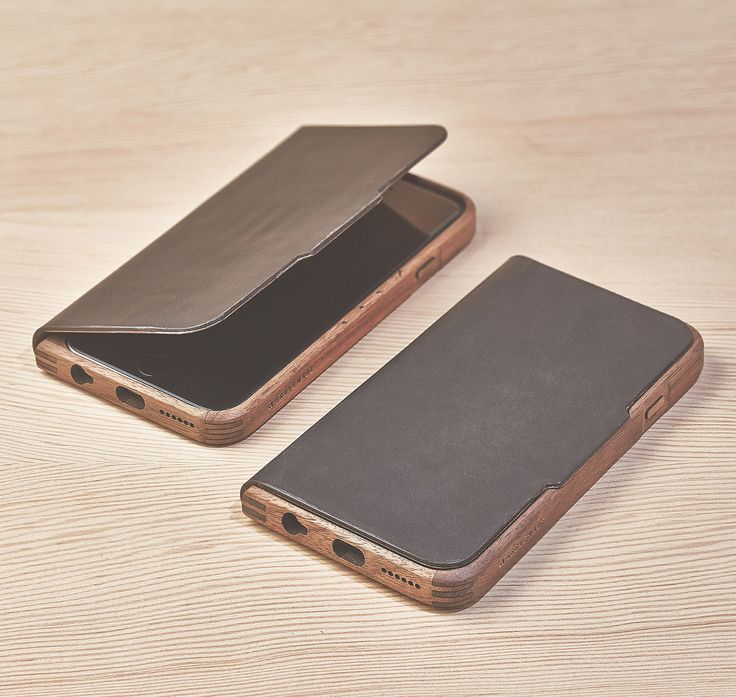 $129 The Grovemade Walnut & Leather Case for iPhone 6 and iPhone 6 Plus. Featuring a frame crafted from domestic hardwood, precision corner joints for superior strength and durability, actuated buttons, a high quality wooden veneer lining, and an easy-to-fold cover that doubles as a stand. Through everyday handling, a rich and beautiful patina will develop, making a piece that is uniquely yours.