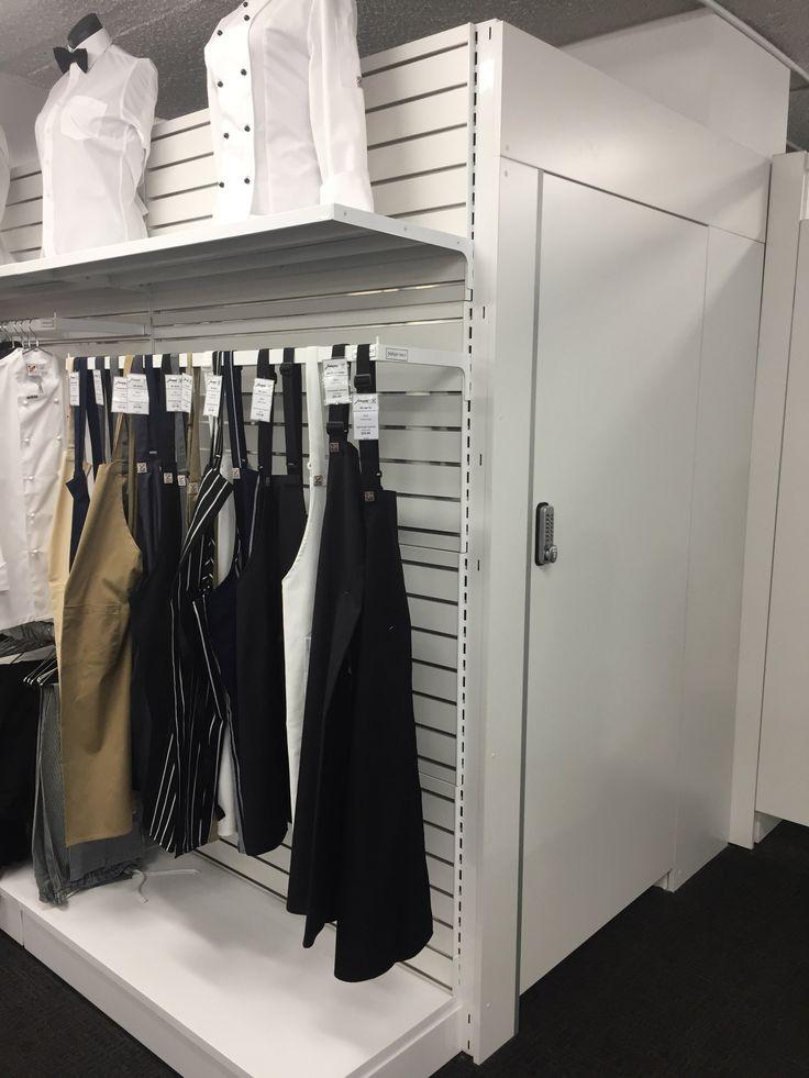 #sfsi #install #chefjohnson #clubchef #surryhills #MAXe #freestanding #workshop #white #backpanels #slotsystem #slotwall #storeroomc #ustom