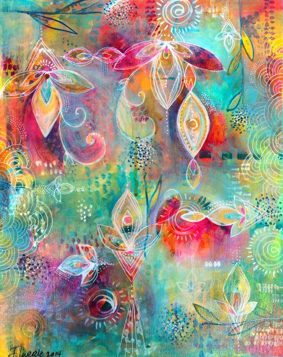 Inspiration from Jennifer Currie Art