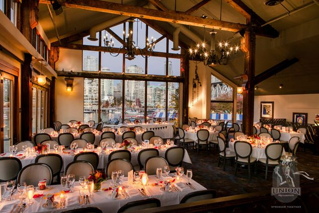 Vancouver Wedding Venue: Bridges Restaurant - Weddingful