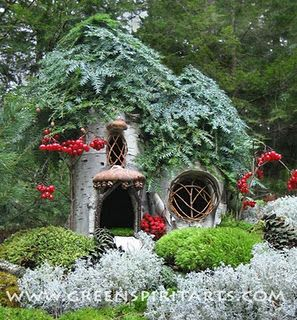 Fairy Houses A Collection Of Ideas To Try About Gardening