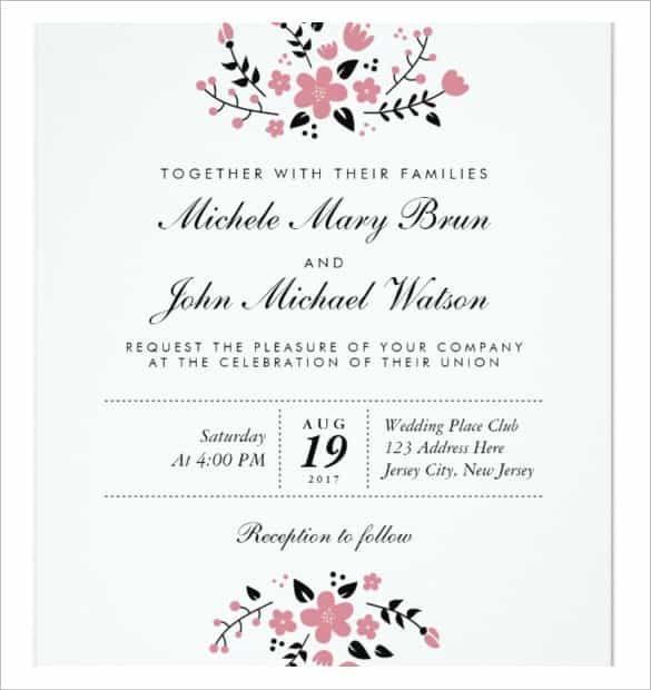 Psd Ai Free Premium Templates In 2020 Blank Wedding Invitation Templates Wedding Invitations Printable Templates Free Wedding Invitation Templates