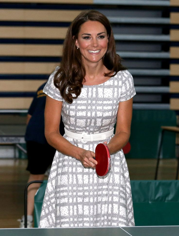 Kate Middleton Playing Ping Pong #royals