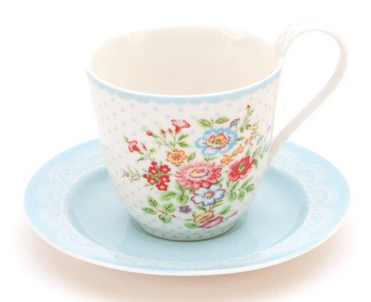 Wendy White kaffekop og underkop Nu Byttet med sally