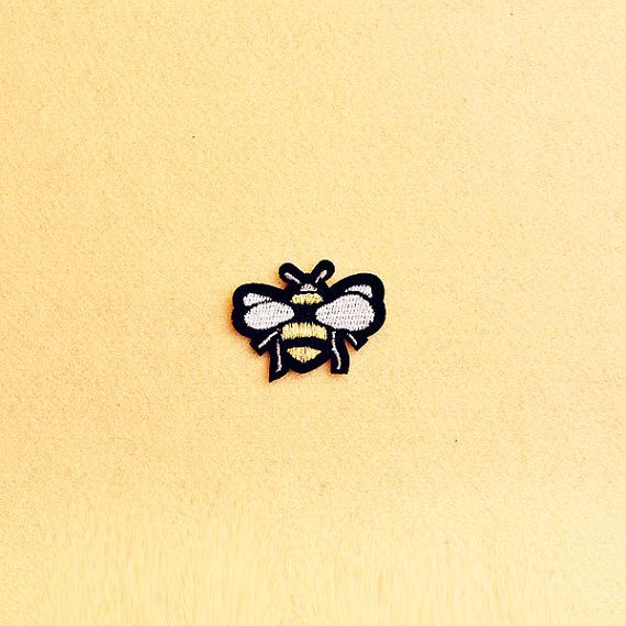 Honey Bee Patch Iron on patch Sew On patch by SimplePatchesShop